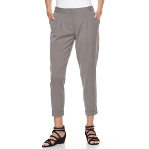 Petite Apt. 9® Pleated Skinny Ankle Dress Pants